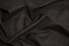 Rest Kaschmirmischung - schwarz mit grau