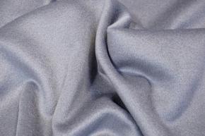 Schurwolle mit Kaschmir - lichtgrau