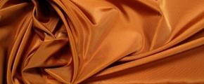 Rest Taft, kupferfarben - Seidenmischung