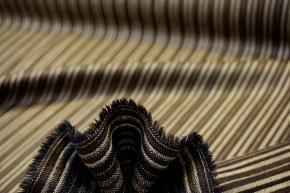 Schurwolle - gewebte Streifen