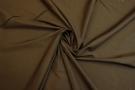 Baumwolle - braun mit Bogenkante