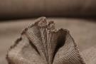 Baumwollmischung - braun/creme