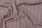 Baumwolle - braun gestreift