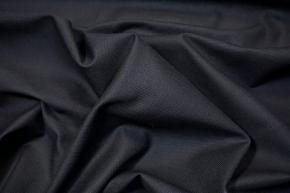 Baumwollpikee - schwarz