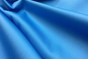 Baumwollsatin - himmelblau