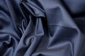 Baumwollstretch - dunkelblau