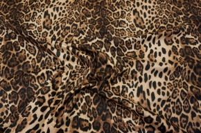 Rest Baumwollstretch - animalprint
