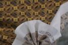 Baumwolle mit Seide - ocker