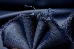 Baumwollmix - dunkelblau