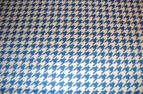 Vichymuster, blau-weiß