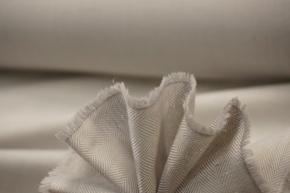 Baumwolle mit Kaschmir - silbergrau