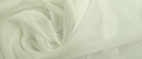 Baumwolle-Seidenmischung, ecru