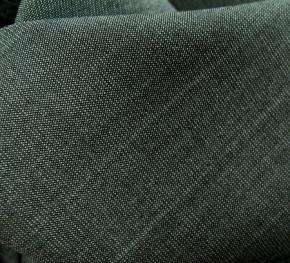 Schurwolle in Stretchqualität, grau-blau