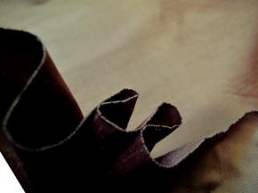 Dupion - cognacfarben