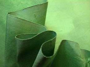 Dupion - apfelgrün
