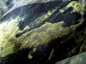 Chiffon - schwarz, braun mit gold