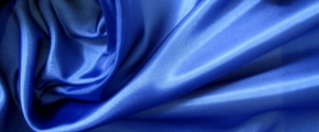 Futtertaft - königsblau