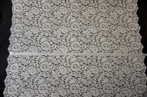 Solstiss - florale Spitze ecru