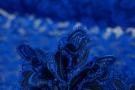 Spachtelspitze - leuchtendes königsblau