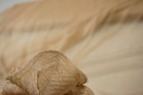 Rest, Seidentüll - nude