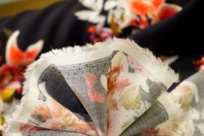 Viskose - Lilienblüten