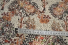 Viskose - Baum- und Vogelmotiv
