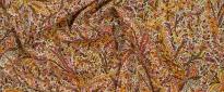 Viskose - buntes Palmenmotiv