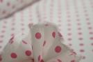Viskose - rosa Polka dots