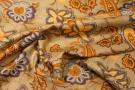 Viskose - Blumen und Paisley