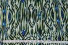Viskose - geometrisches Motiv