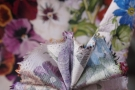 Viskose - florales Muster