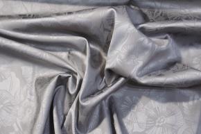 Viskose mit Elastan - silber
