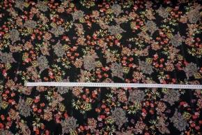 Viskosejacquard - Blumen