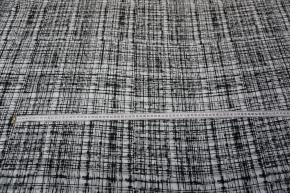 leichte Viskose - weiß/grau