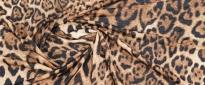 Viskosejersey - animalprint