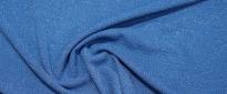 schwerer Viskosejersey - cobalt/silber