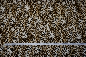 Viskosejersey - animal print
