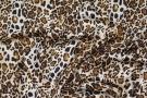 Viskose mit Seide - animalprint