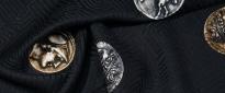 Viskosemischung - antike Münzen