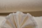 Viskose mit Baumwolle - creme