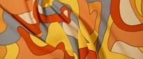 elastischer ViskoseCrepe - bunt