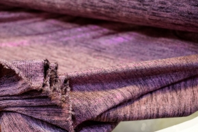Jersey - lila mit Glanzfaden