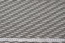 elastischer Cloque - hellbeige mit schwarz