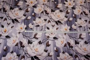 Romanitjersey - weiße Blumen