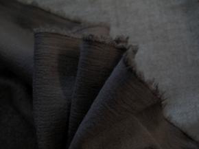 Musselin - dunkelbraun