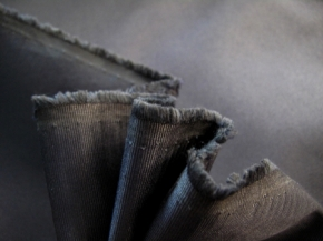 Baumwoll-Seidenmischung, graphit