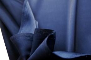 Satin in Stretchqualität - saphirblau