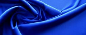 Rest Satin in Stretchqualität, königsblau
