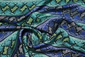 Viskosefutter - Schlangenprint