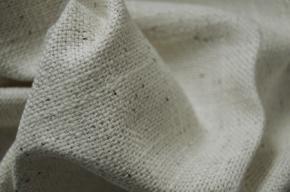 Baumwollmischung, beige und braun